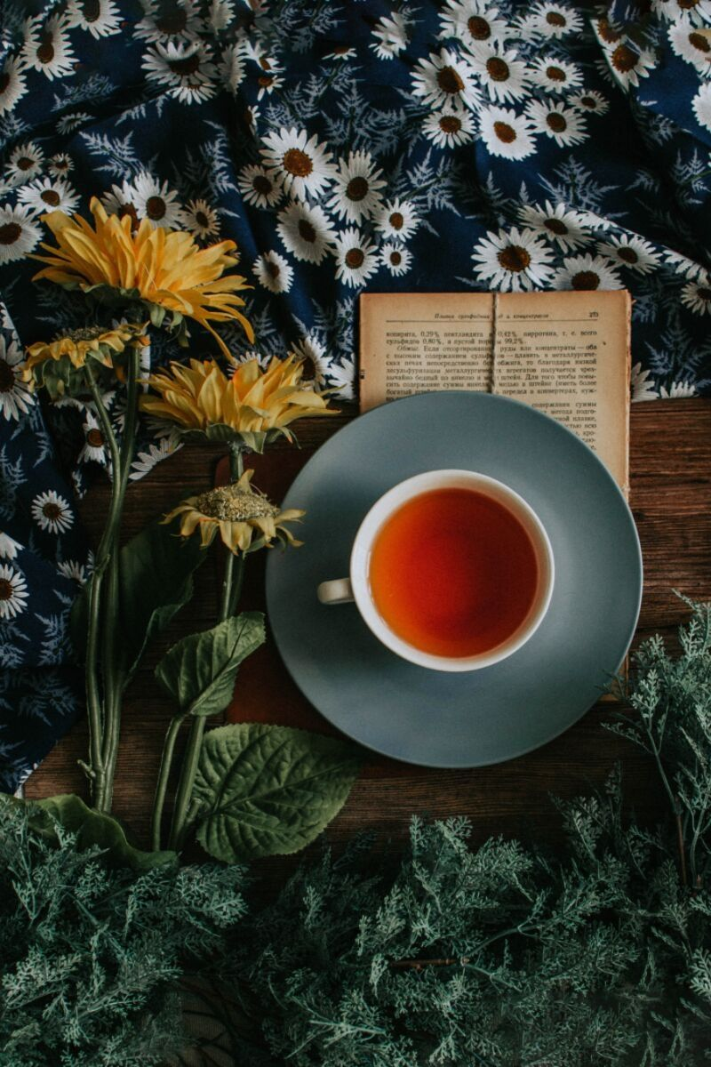 A Cup of Tea and A Book Equals Me Time