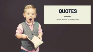 Great education quotes for teachers and students