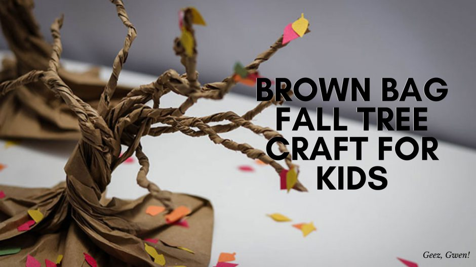 Fall Brown Bag Tree Craft