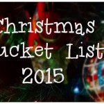 Holiday Bucket List 2015