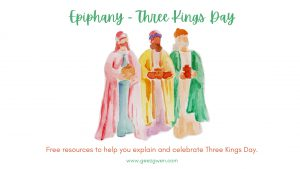 Epiphany Three Kings Day resources