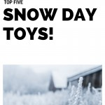 Top Five Coolest Toys for a Snow Storm