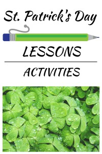st patricks day lessons