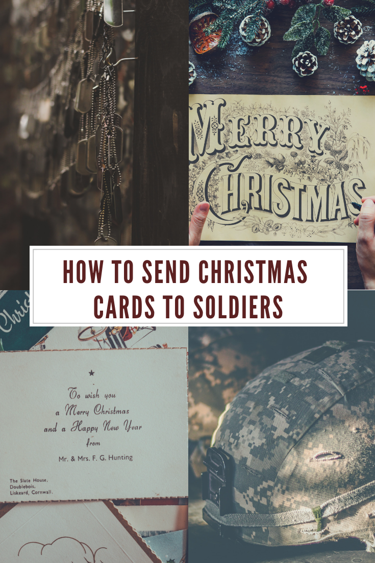 Where to send Christmas cards for soldiers