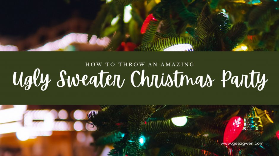 How To Throw An Amazing Ugly Sweater Party