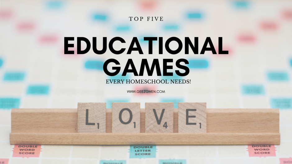 Favorite educational games for kids