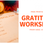 I am Grateful For – Free Worksheet