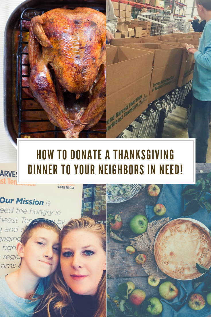 How to donate at Thanskgiving