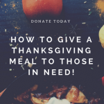 How You Can Donate A Thanksgiving Meal
