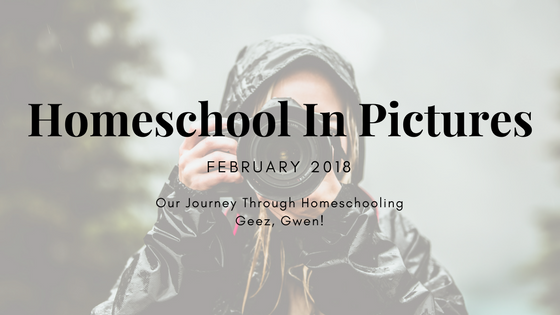 February Homeschool In Pictures