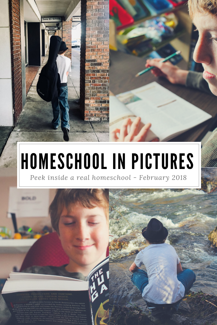 Homeschooling In Photos
