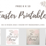Beautiful Free 8 x 10 Easter Printable Wall Art Pieces