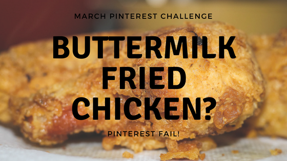 Fried Chicken Pinterest Fail