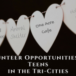 Volunteer and Community Service Opportunities for Teens In The Tri-Cities