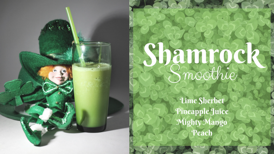 Shamrock Smoothie St. Patrick's Day Recipe