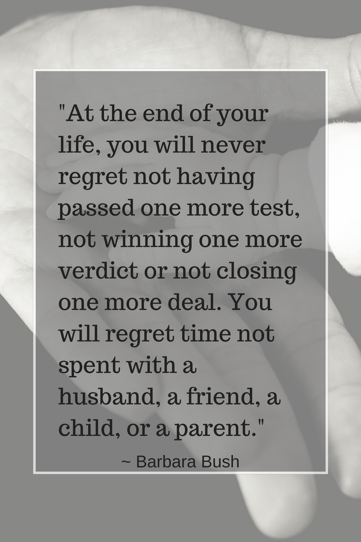 Barbara Bush Quote On Regret