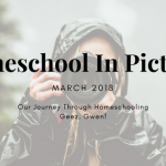 Homeschool Month In Pictures – March 2018