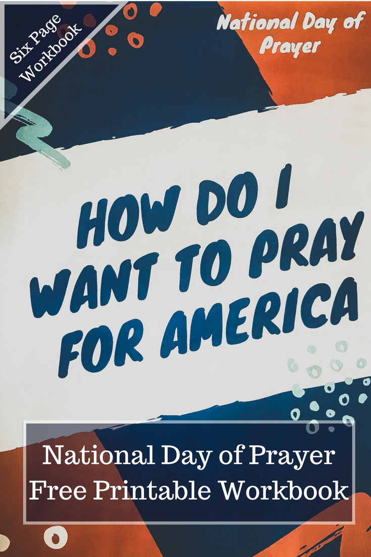 National Day of Prayer Free Printable Workbook