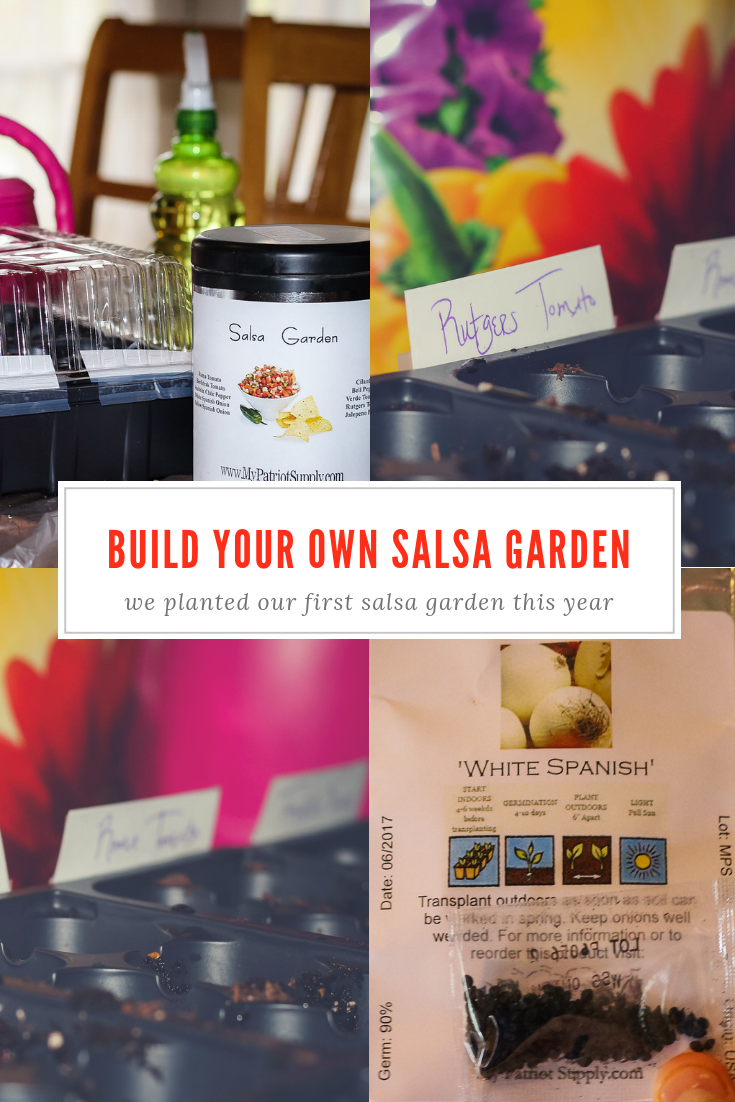 Plant Your Own Salsa Garden