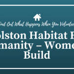 Holston Habitat For Humanity – Women's Build