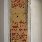 Doorframe Notes From Volunteers