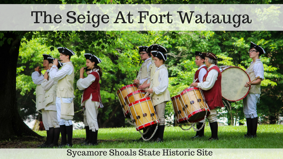 The Seige At Fort Watauga