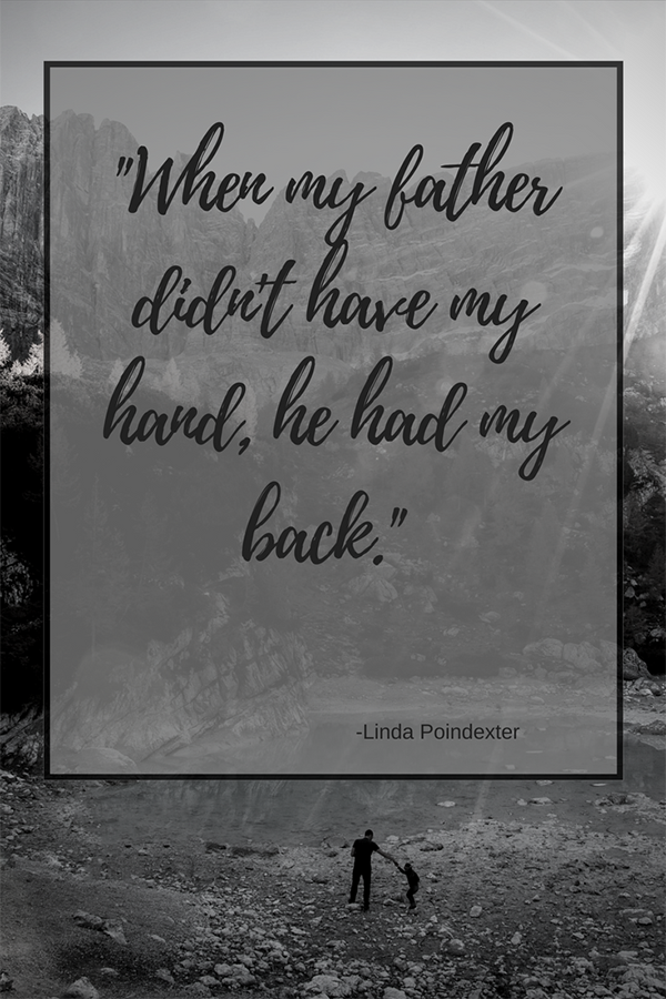 Father's Day Quote Linda Pindexter
