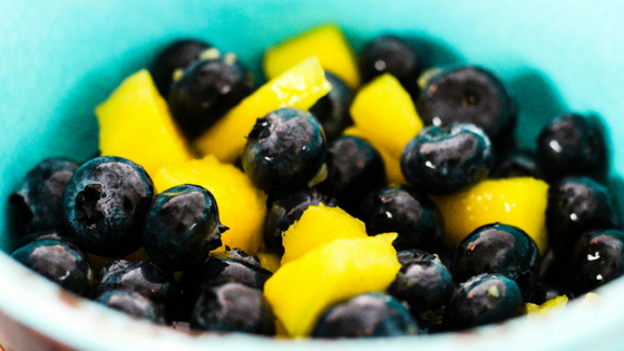 Blueberry Mango Fruit Salad
