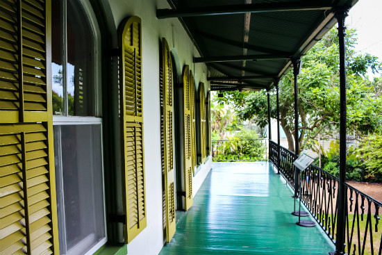 Ernest Hemingway Porch In Key West