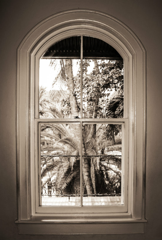 Hemingway House Window