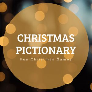 Christmas Pictionary - fun Christmas Games - Print now.