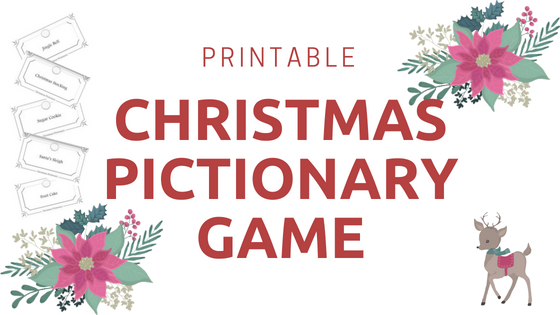 photograph regarding Printable Christmas Images known as Xmas Pictionary Printable Video game