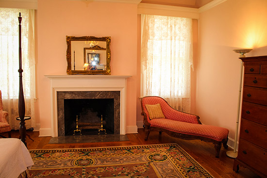 The Pink Room In Allendale Mansion