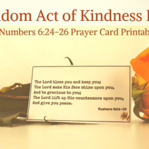 Random Act of Kindness Ideas
