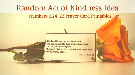 photo relating to Printable Prayer Cards known as Quantities 6 Prayer Printable - Geez, Gwen!