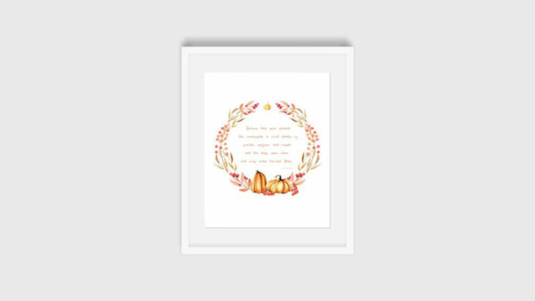 Fall Quote Printable