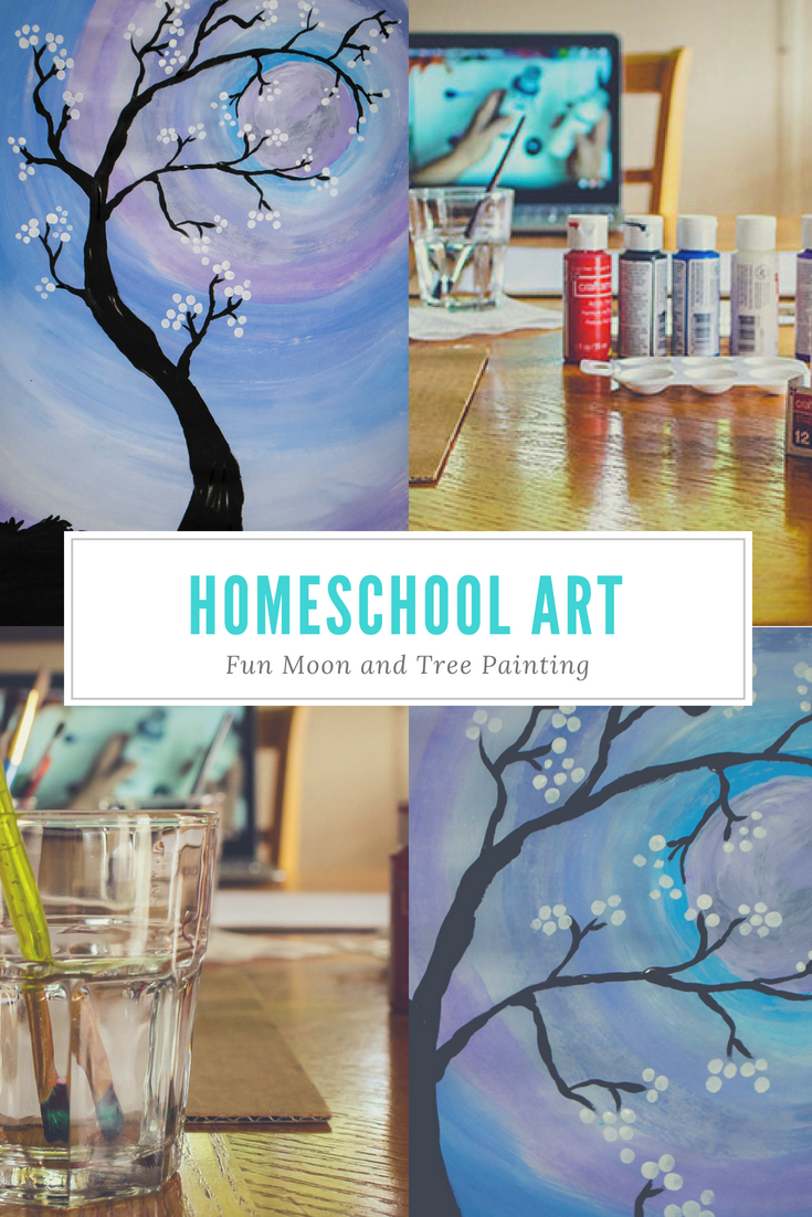 Homeschool Art Project