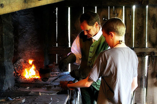 Blacksmith Work At Rocky Mount