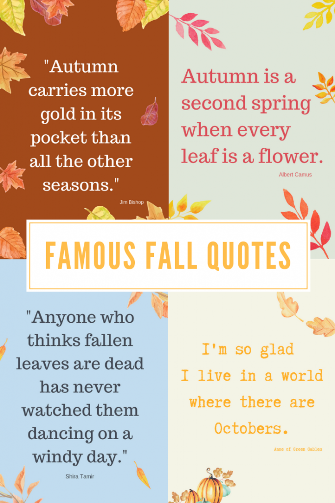 Five Fall Quotes