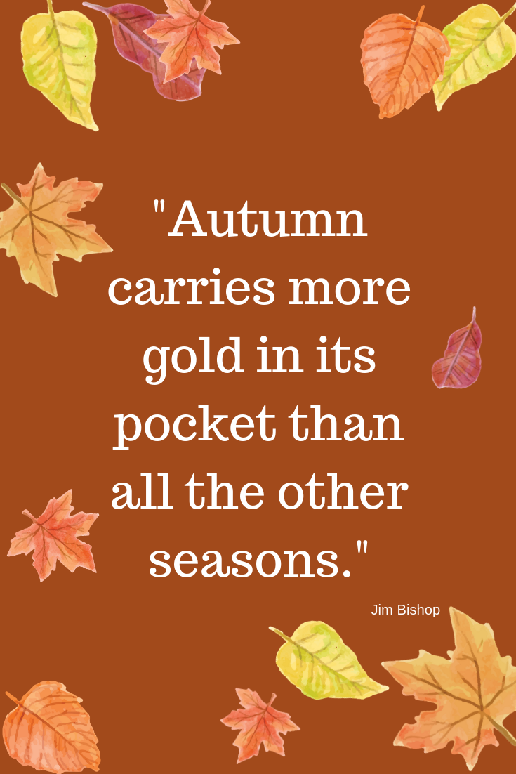 Famous Fall Quote about Autumn