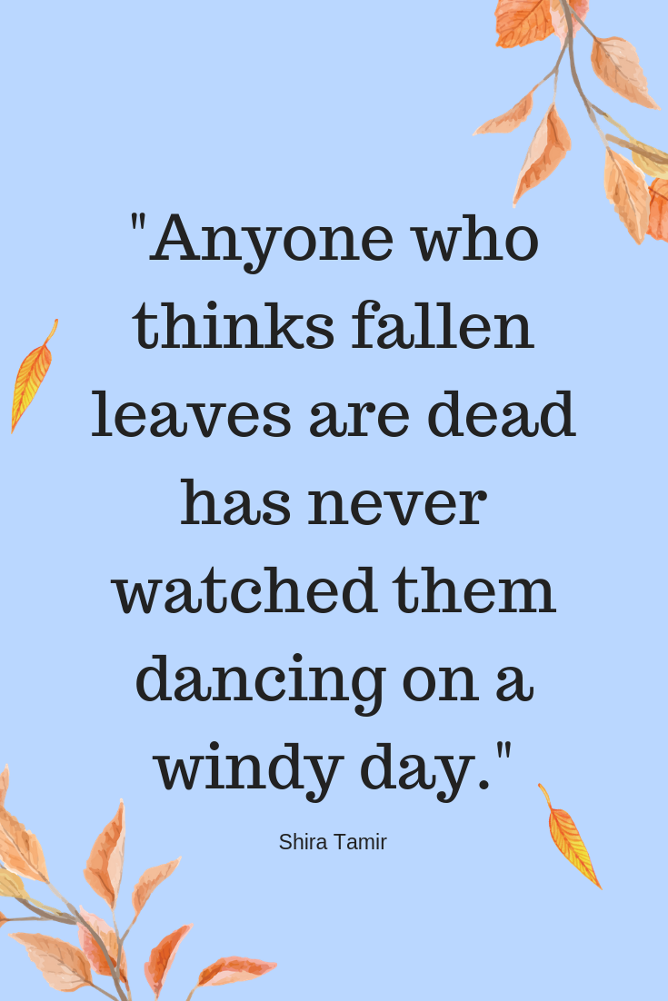 Best Fall Quotes