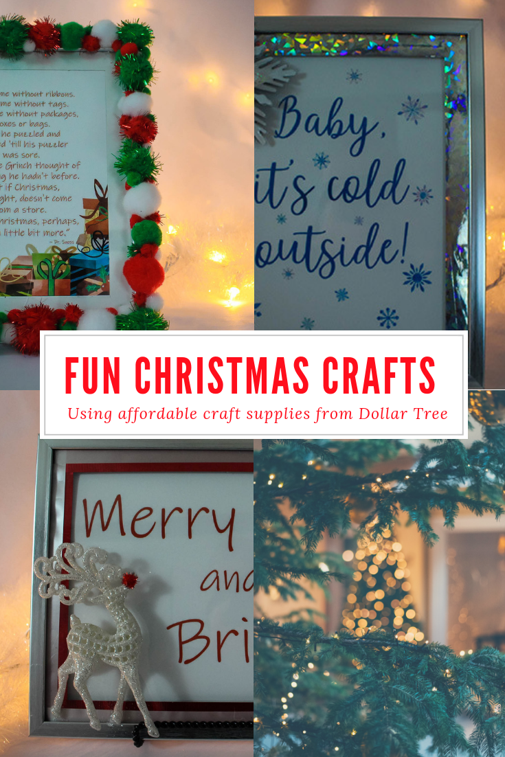 Dollar Tree Christmas Crafts