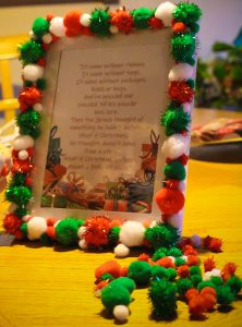 Dr. Suess Quote Frame Christmas Craft