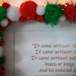 Dr. Suess Quote Frame Close Up