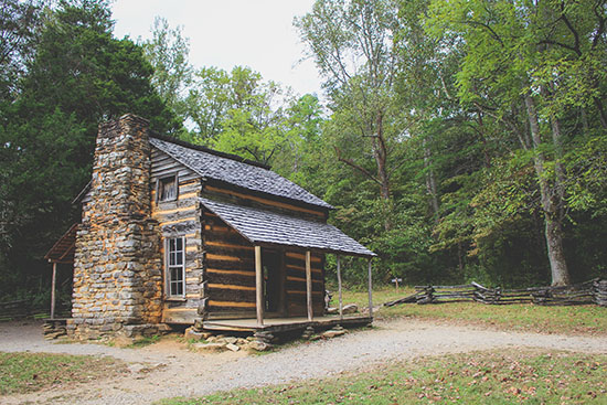 John Oliver Cabin at Cade's Cove