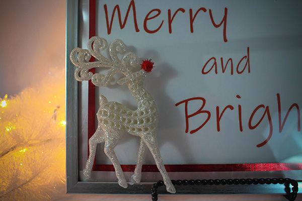 Reindeer Frame Dollar Tree Christmas Craft