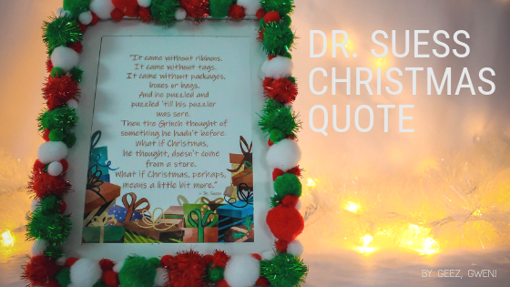 Dr. Suess Christmas Quote Printable