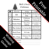 Free Printable Christmas Themed Writing Prompts
