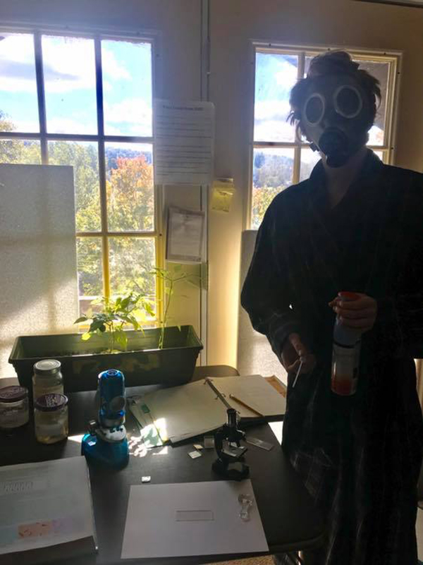 Homeschool Science Experiment Gone Bad