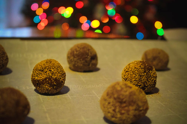 Snickerdoodle Cookie Balls